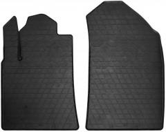 Коврики в салон передние для Peugeot 407 '04-10 резиновые (Stingray)
