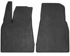 Коврики в салон передние для Tesla Model X '15- резиновые (Stingray)