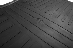 Фото 6 - Коврики в салон для Toyota Sequoia '08- 1+2 ряд, резиновые (Stingray)