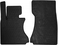 Коврики в салон передние для BMW 7 E65/E66 '01-08 резиновые (Stingray)
