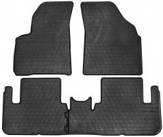 Коврики в салон для Chevrolet Tacuma '00-08 резиновые (Stingray)