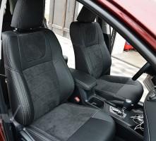 Авточехлы Leather Style для салона Toyota RAV4 '16- hybrid (MW Brothers)
