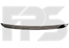 Накладка капота для Renault Symbol '08-12 хром (FPS)