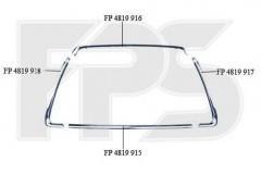 Рамка решетки в бампере для Mitsubishi ASX '10-13 комплект (FPS)