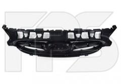 Решетка бампера для Hyundai Accent (Solaris) '11-17 без хром накладок (FPS)