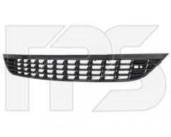 Решетка бампера для Opel Astra J '09-12 средняя, черная (FPS)