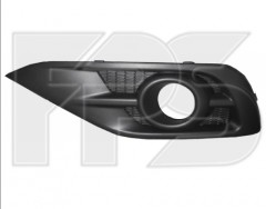 FPS Решетка бампера для Honda CR-V '12-15 черная, левая, с отверстием (FPS)