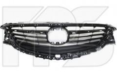 Решетка радиатора для Mazda 6 '13- черная, без молдингов (FPS)