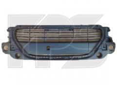 Решетка радиатора для Peugeot 301 '12- черная, без хром. накладок (FPS)