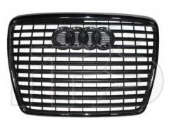 Решетка радиатора для Audi A6 '05-08 хром/черная (FPS)