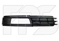 Решетка бампера для Audi A6 '08-10 правая (FPS)