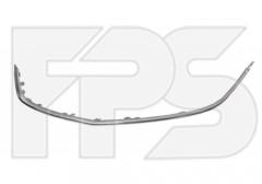 Молдинг решетки для Opel Astra J '09-12 нижний, хром (FPS)