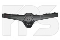 Накладка решетки для Renault Kangoo '13- верхняя, черная (FPS)