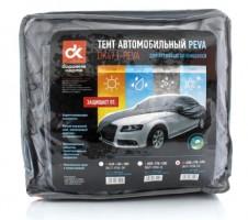 """Тент автомобильный для седана PEVA XL """"Дорожная карта"""""""