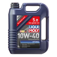 LIQUI MOLY Optimal  10W-40 (4+1 л.)