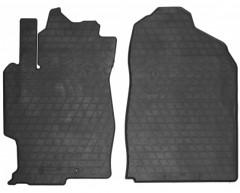 Коврики в салон передние для Mazda 6 '02-08 резиновые (Stingray)