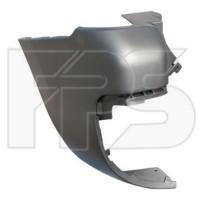Угольник заднего бампера Peugeot Partner '08-15 2 дв. левый (FPS)