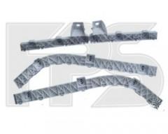 Комплект крепежей бампера Mitsubishi Lancer X (10) '07-12, передние и задние (FPS)