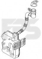 Бачок омывателя для Skoda Octavia A5 '05-13 (FPS)