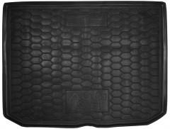 Коврик в багажник для Audi A3 '12- Sportback резиновые, черные (AVTO-Gumm)