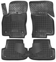 Коврики в салон для Audi A3 '12- резиновые, черные (AVTO-Gumm)
