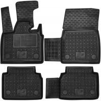 Коврики в салон для BMW i3 '13- резиновые, черные (AVTO-Gumm)