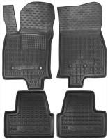 Коврики в салон для Chevrolet Volt '16- резиновые, черные (AVTO-Gumm)