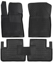 Коврики в салон для Renault Megane 4 '16- седан резиновые, черные (AVTO-Gumm)