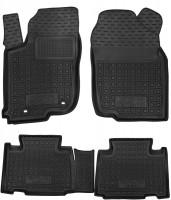 Коврики в салон для Toyota RAV4 '16- резиновые, черные (AVTO-Gumm)