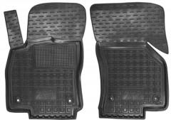 Коврики в салон передние для Audi A3 '12- резиновые, черные (AVTO-Gumm)