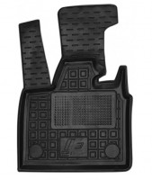 Коврик в салон водительский для BMW i3 '13- резиновые, черные (AVTO-Gumm)