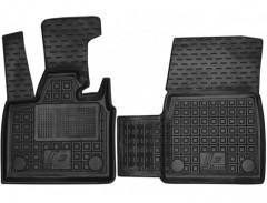 Коврики в салон передние для BMW i3 '13- резиновые, черные (AVTO-Gumm)