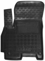 Коврик в салон водительский для Chery Tiggo 7 '17-  резиновые, черные (AVTO-Gumm)