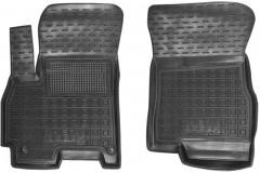 Коврики в салон передние для Chery Tiggo 7 '17-  резиновые, черные (AVTO-Gumm)