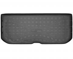 Коврик в багажник полиуретановый для Honda Pilot '16- 3 ряд разложен (Nor-Рlast) черный