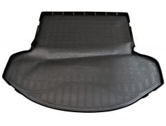 Коврик в багажник полиуретановый для Mazda CX-9 '16- 3 ряд сложен (Nor-Рlast) черный