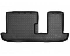 Коврик в салон для Mazda CX-9 '16- 3 ряд полиуретановый, черный (Nor-Plast)