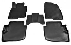Коврики в салон для Mazda CX-9 '16- полиуретановые, черные (Nor-Plast)