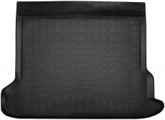 Коврик в багажник для Toyota LC Prado 150 '17- (5 мест, длинный), полиуретановый (NorPlast) черный