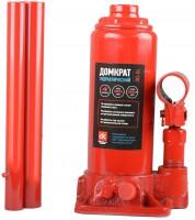 Домкрат автомобильный гидравлический бутылочный 4 т. в кейсе JNS-04PVC (Дорожная карта) красный