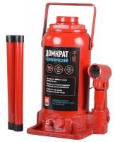 Домкрат автомобильный гидравлический бутылочный 16 т. JNS-16 (Дорожная карта) красный