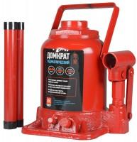 Домкрат автомобильный гидравлический бутылочный низкий 20 т. JNS-20F (Дорожная карта) красный