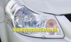 Защита фар для Suzuki SX4 '06- прозрачная 2 шт. (EGR)