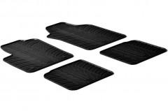 Коврики в салон для Lancia Ypsilon '03-11 резиновые, черные (GledRing)