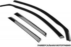 Дефлекторы окон для Fiat Fiorino Qubo '08-, вставные (HIC)