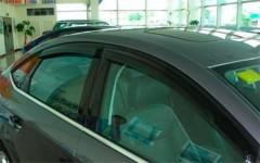 Дефлекторы окон для Ford Mondeo '07-14 седан (HIC)