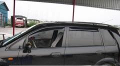 Дефлекторы окон для Mazda Premacy '99-05 (HIC)