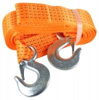 Трос буксировочный 5 тонн DK46-PE550/60 5 м. Polyester оранжевый