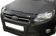 Дефлектор капота для Ford Focus III '11-14, c логотипом (EGR)