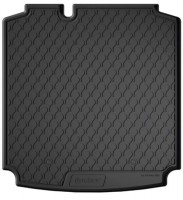 Коврик в багажник для Volkswagen Jetta VI '10-, полиуретановый, коврик прямоугольный (GledRing)